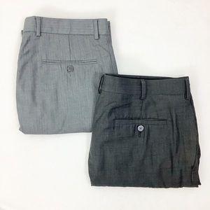 Bundle Of 2 Dress Pants Calvin Klein Axist 34 x 32
